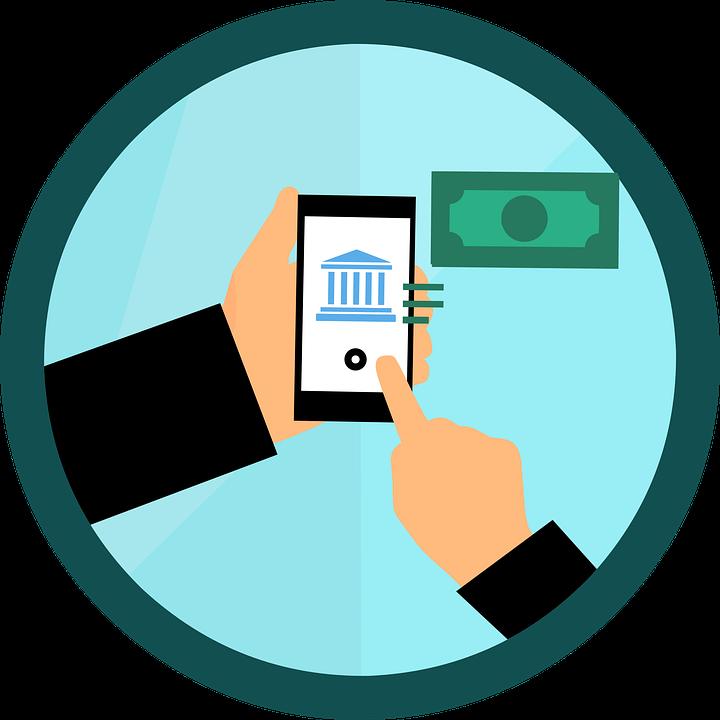 electronic banking app